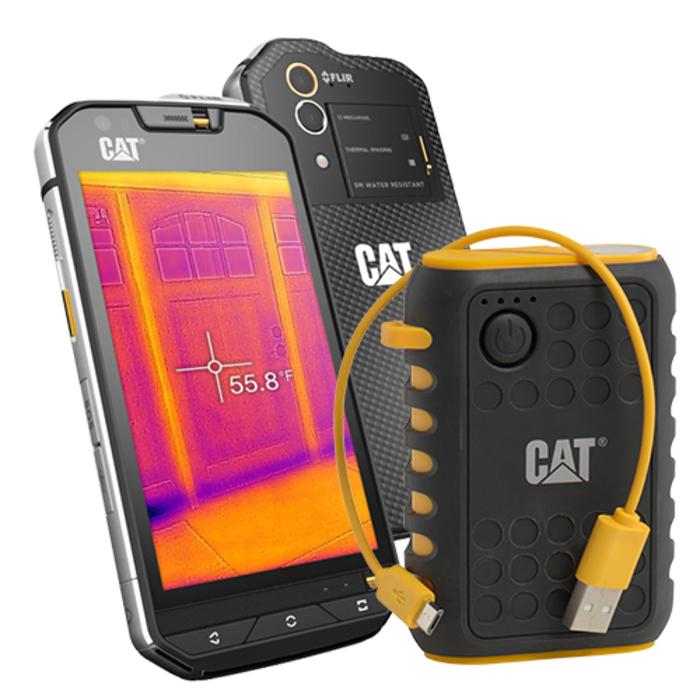 CAT S60 — смартфон с тепловизионной камерой