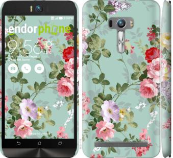 """Чехол для Asus ZenFone Selfie ZD551KL """"Цветочные обои 2"""" - интернет-магазин чехлов endorphone.com.ua"""