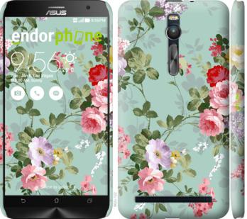 """Чехол для Asus Zenfone 2 ZE551ML """"Цветочные обои 2"""" - интернет-магазин чехлов endorphone.com.ua"""
