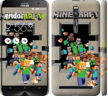 """Чехол для Asus Zenfone 2 ZE551ML """"Minecraft 6"""" - интернет-магазин чехлов endorphone.com.ua"""