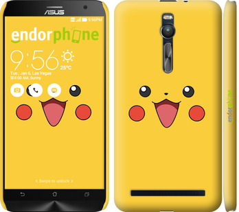 "Чехол для Asus Zenfone 2 ZE551ML ""Pikachu pokemon go v2"" - интернет-магазин чехлов endorphone.com.ua"