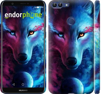 "Чехол для Huawei P Smart ""Арт-волк"" - интернет-магазин чехлов endorphone.com.ua"