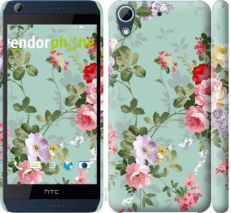 """Чехол для HTC Desire 626G """"Цветочные обои 2"""" - интернет-магазин чехлов endorphone.com.ua"""