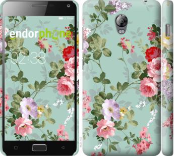 """Чехол для Lenovo Vibe P1 """"Цветочные обои 2"""" - интернет-магазин чехлов endorphone.com.ua"""