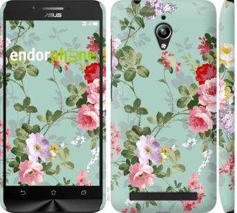 """Чехол для Asus Zenfone Go ZC500TG """"Цветочные обои 2"""" - интернет-магазин чехлов endorphone.com.ua"""