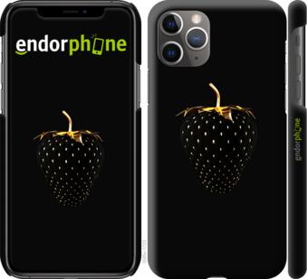 """Чехол для iPhone 11 Pro Max """"Черная клубника"""" - интернет-магазин чехлов endorphone.com.ua"""
