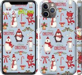 """Чехол для iPhone 11 Pro Max """"Рождественский"""" - интернет-магазин чехлов endorphone.com.ua"""