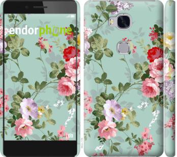 """Чехол для Huawei Honor 5X """"Цветочные обои 2"""" - интернет-магазин чехлов endorphone.com.ua"""