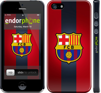 "Чехол для iPhone 5 ""Барселона  v3"" - интернет-магазин чехлов endorphone.com.ua"
