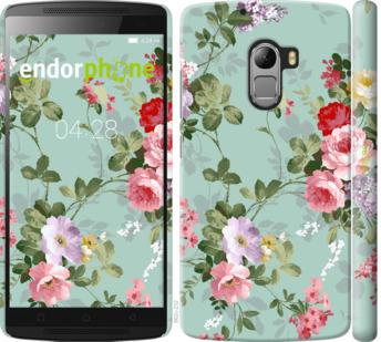 """Чехол для Lenovo A7010 """"Цветочные обои 2"""" - интернет-магазин чехлов endorphone.com.ua"""