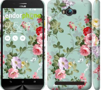"""Чехол для Asus ZenFone Max ZC550KL """"Цветочные обои 2"""" - интернет-магазин чехлов endorphone.com.ua"""
