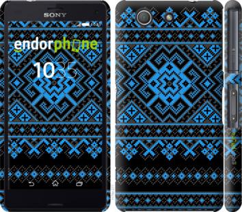 "для Sony Xperia Z3 Compact D5803 ""Вышиванка 44"" - интернет-магазин чехлов endorphone.com.ua"