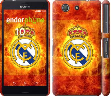 """Чехол для Sony Xperia Z3 Compact D5803 """"Реал Мадрид 1"""" - интернет-магазин чехлов endorphone.com.ua"""