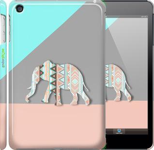 "Чехол для iPad mini ""Узорчатый слон"" - интернет-магазин чехлов endorphone.com.ua"