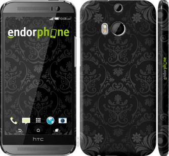"Чехол для HTC One M8 dual sim ""узор барокко"" - интернет-магазин чехлов endorphone.com.ua"