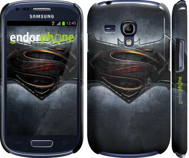 "Чехол для Samsung Galaxy S3 mini ""Бэтмен против Супермена"" - интернет-магазин чехлов endorphone.com.ua"
