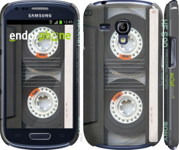 "Чехол для Samsung Galaxy S3 mini ""Кассета"" - интернет-магазин чехлов endorphone.com.ua"