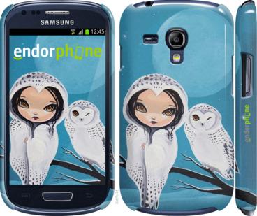 "Чехол для Samsung Galaxy S3 mini ""Девушка птица"" - интернет-магазин чехлов endorphone.com.ua"