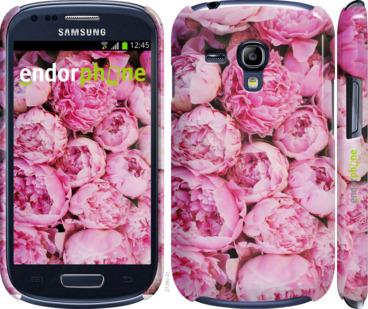 "Чехол для Samsung Galaxy S3 mini ""Пионы v3"" - интернет-магазин чехлов endorphone.com.ua"