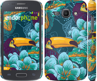 """Чехол для Samsung Galaxy Ace 3 Duos s7272 """"Тропики"""" - интернет-магазин чехлов endorphone.com.ua"""
