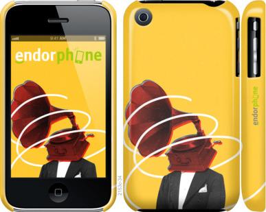 "Чехол для iPhone 3Gs ""Music in my head 2"" - интернет-магазин чехлов endorphone.com.ua"