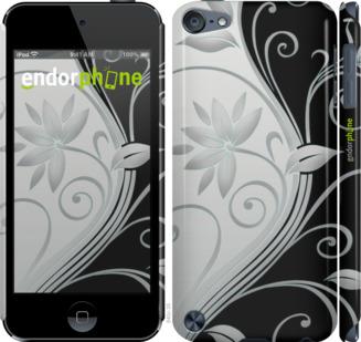 """для iPod Touch 5 """"Цветы на чёрно-белом фоне"""" - интернет-магазин чехлов endorphone.com.ua"""