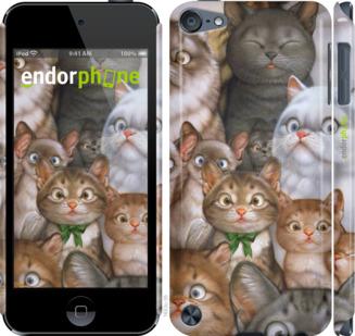 """Чехол для iPod Touch 5 """"коты"""" - интернет-магазин чехлов endorphone.com.ua"""