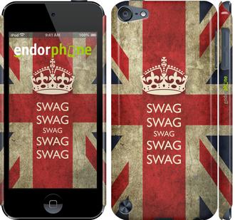 """Чехол для iPod Touch 5 """"Флаг Великобритании. Сваг"""" - интернет-магазин чехлов endorphone.com.ua"""