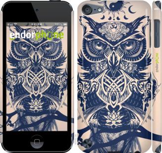 "Чехол для iPod Touch 5 ""Узорчатая сова"" - интернет-магазин чехлов endorphone.com.ua"