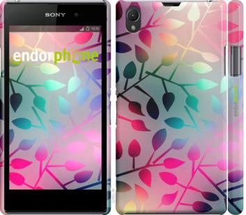 """Чехол для Sony Xperia Z1 C6902 """"Листья"""" - интернет-магазин чехлов endorphone.com.ua"""