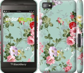 """Чехол для Blackberry Z10 """"Цветочные обои 2"""" - интернет-магазин чехлов endorphone.com.ua"""