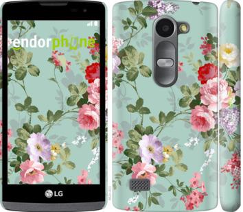 """Чехол для LG Leon H324 """"Цветочные обои 2"""" - интернет-магазин чехлов endorphone.com.ua"""