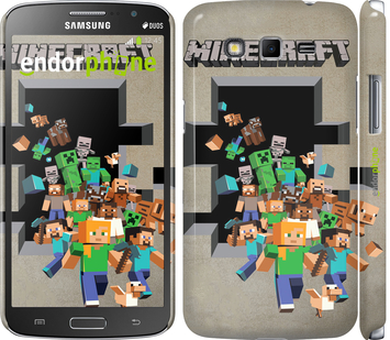 "Чехол для Samsung Galaxy Grand 2 G7102 ""Minecraft 6"" - интернет-магазин чехлов endorphone.com.ua"