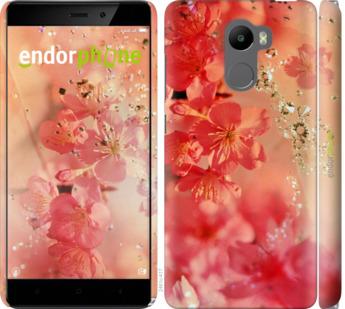 """Чехол для Xiaomi Redmi 4 """"Розовые цветы"""" - интернет-магазин чехлов endorphone.com.ua"""