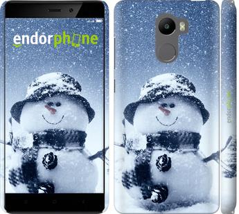 """Чехол для Xiaomi Redmi 4 """"Весёлый снеговичёк"""" - интернет-магазин чехлов endorphone.com.ua"""
