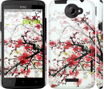 """Чехол для HTC One X+ """"Цветущий куст"""" - интернет-магазин чехлов endorphone.com.ua"""