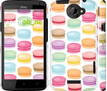 """Чехол для HTC One X+ """"Макаруны 2"""" - интернет-магазин чехлов endorphone.com.ua"""
