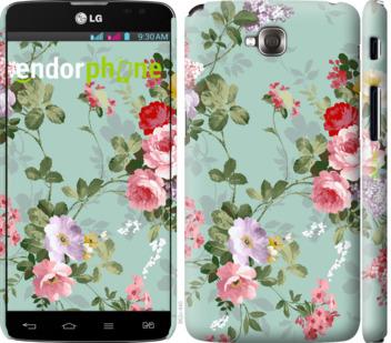 """Чехол для LG G Pro Lite Dual D686 """"Цветочные обои 2"""" - интернет-магазин чехлов endorphone.com.ua"""