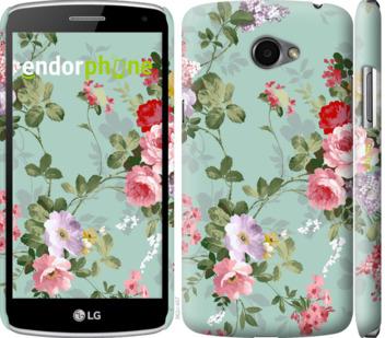 """Чехол для LG K5 X220 """"Цветочные обои 2"""" - интернет-магазин чехлов endorphone.com.ua"""
