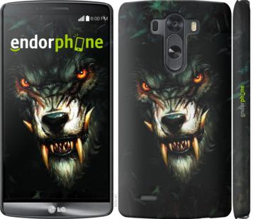 """Чехол для LG G3 D855 """"Дьявольский волк"""" - интернет-магазин чехлов endorphone.com.ua"""