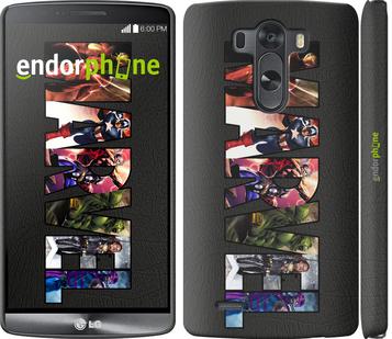 """Чехол для LG G3 D855 """"Marvel v2"""" - интернет-магазин чехлов endorphone.com.ua"""