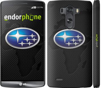 """Чехол для LG G3 D855 """"Subaru. Logo"""" - интернет-магазин чехлов endorphone.com.ua"""
