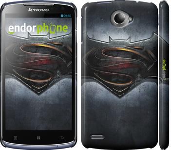 "Чехол для Lenovo S920 ""Бэтмен против Супермена"" - интернет-магазин чехлов endorphone.com.ua"