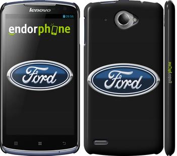 "Чехол для Lenovo S920 ""Ford. Logo v3"" - интернет-магазин чехлов endorphone.com.ua"