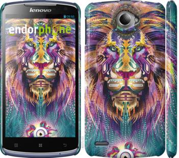 """Чехол для Lenovo S920 """"Люминесцентный лев"""" - интернет-магазин чехлов endorphone.com.ua"""