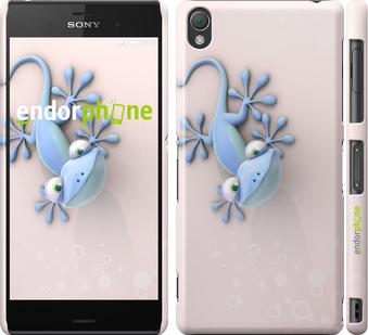 "Чехол для Sony Xperia Z3 dual D6633 ""Геккончик"" - интернет-магазин чехлов endorphone.com.ua"