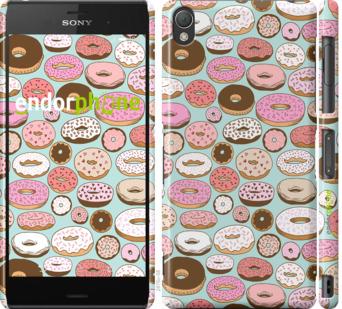 "Чехол для Sony Xperia Z3 dual D6633 ""Пончики в глазури"" - интернет-магазин чехлов endorphone.com.ua"
