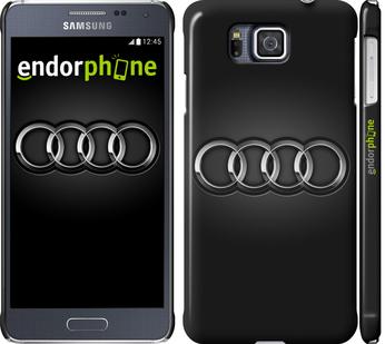"""для Samsung Galaxy Alpha G850F """"Audi. Logo v3"""" - интернет-магазин чехлов endorphone.com.ua"""