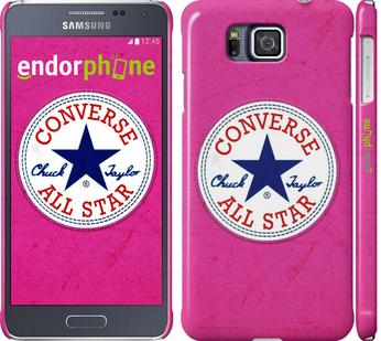 "Чехол для Samsung Galaxy Alpha G850F ""Converse. All star. Pink"" - интернет-магазин чехлов endorphone.com.ua"