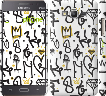 "Чехол для Samsung Galaxy Grand Prime VE G531H ""Graffiti art"" - интернет-магазин чехлов endorphone.com.ua"